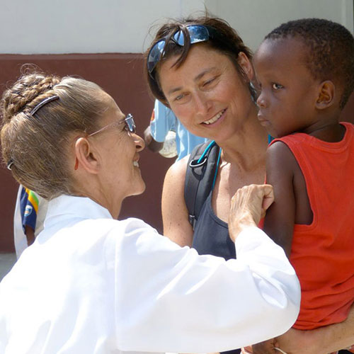 Projekt Island Child Care Haiti