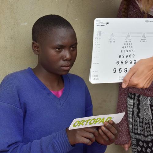 HIT Stiftung - Projekt Augenscreenings in Tansania