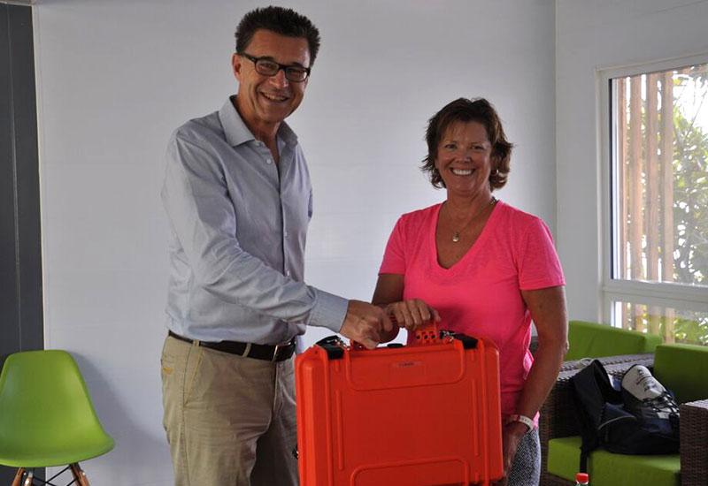 Janet Hayes und Dr. Kaupke, Bild: Beate Kunz